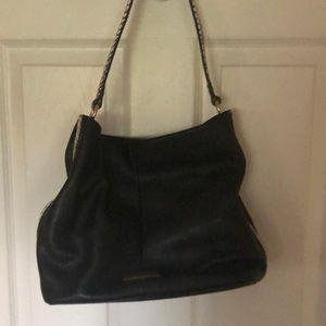 Black Isaac Mizrahi leather hobo bag